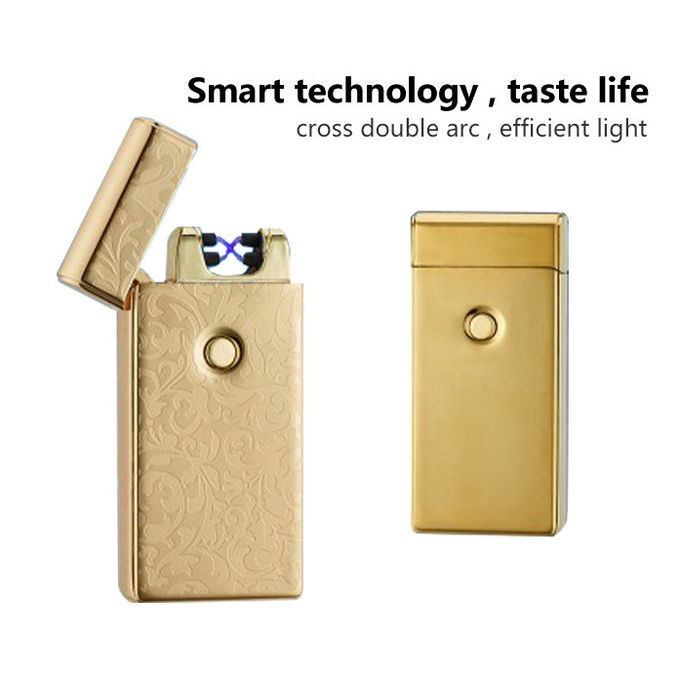Rechargeable Electronic Pulse Arc Lighter , Custom Plasma Torch Lighter