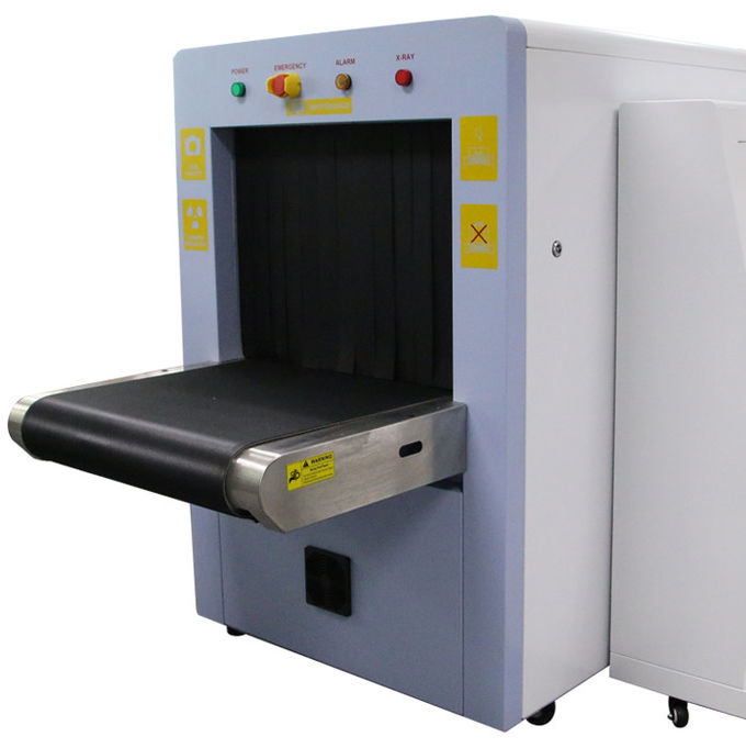 Airport Security X Ray Baggage Scanner 600 * 500mm With 1 Color Monitor