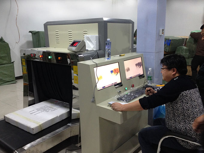 Public Security Checking X Ray Baggage Machine Low Noise , ISO Standard