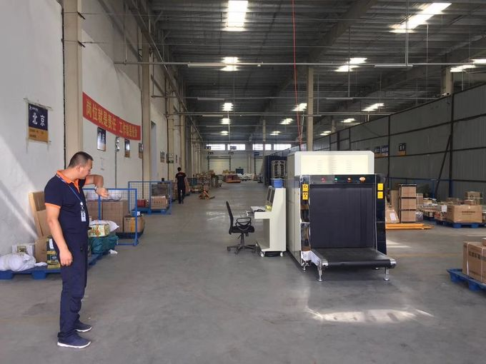 Automatic Alarm X Ray Inspection Machine / Airport Baggage X Ray Machines