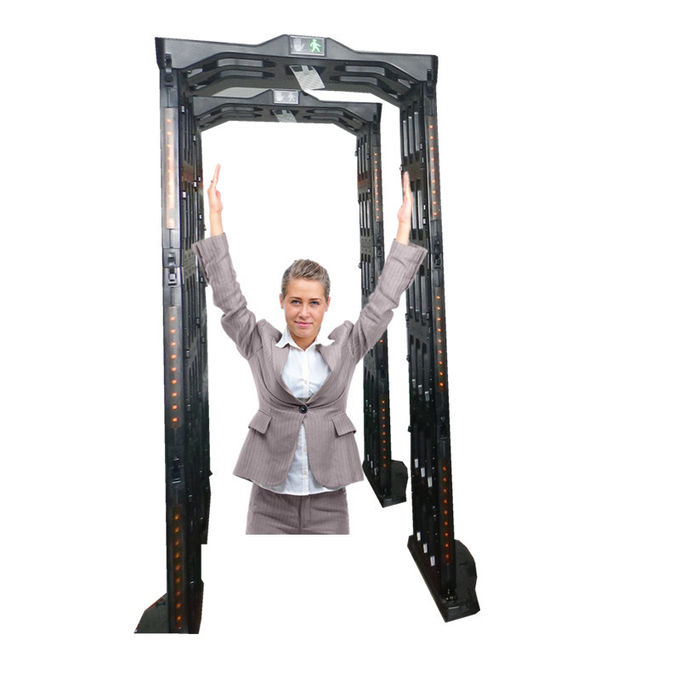 Waterproof Door Frame Portable Metal Detector Walk Through With Adjustable Detecting Zone
