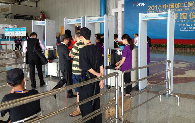 Security Door Walk Through Metal Detector For Public Stations Checking