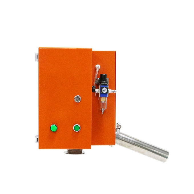 Gravity Free Fall Metal Detector Separator For Food Or Plastic Industry