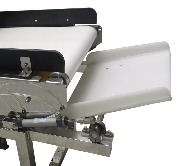 High Sensitivity Inclined Food Metal Detector Conveyor Belt With Multi - Reject System