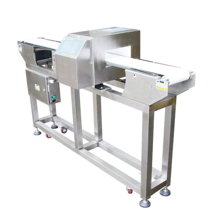 Full Stainless Steel Pharma Metal Detector Auto Conveying 400mm Tunnel Width