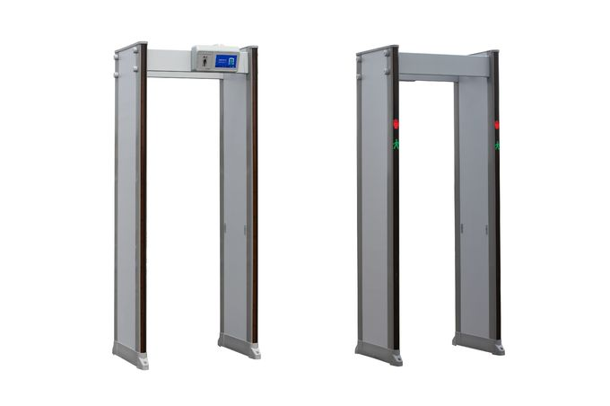33 Zones Security Walk Through Metal Detector Gate Battery Lasting 48 Hours